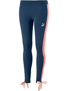 Puma Retro Rib W leggings  Amazon.fr  Vêtements et accessoires 2d40f33d753