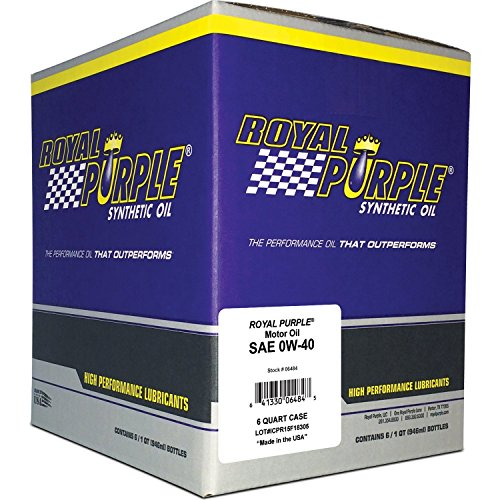 Royal Purple 06484 6PK API Licensed Performance