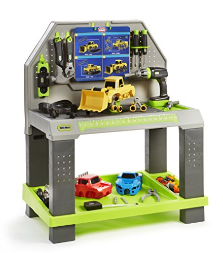 Little Tikes Construct 'n Learn Smart Workbench (Little Tikes Workbench)