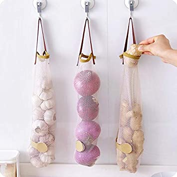 Amazon.com: Bolsa de almacenamiento de ajos – bolsa de ...