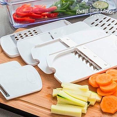 Elektrischer Gemüsehobel und Obsthobel Mandoline Andrew James