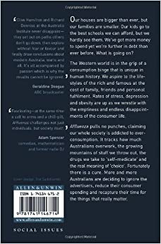 affluenza when too much is never enough pdf