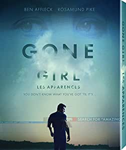 Gone Girl (with Amazing Amy Book) [Blu-ray] (Bilingual)