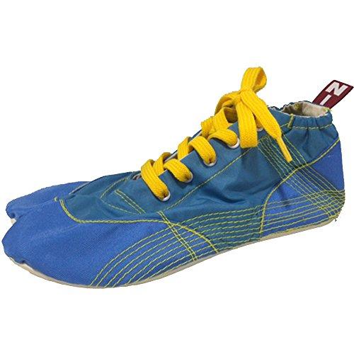 終わり免疫学ぶ[無敵]MUTEKI 【ランニング足袋】伝統職人の匠技が創り出すランニングシューズ《ブルー》