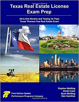 Texas Real Estate License Exam Prep: All-in-One Review and