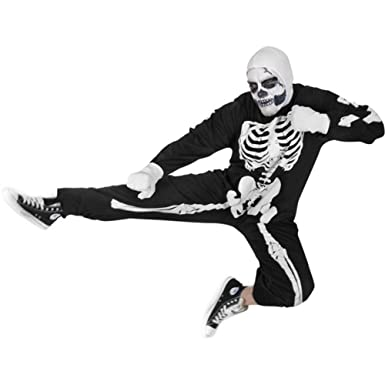 adult karate kid skeleton halloween costume - Skeleton Halloween Costume For Kids