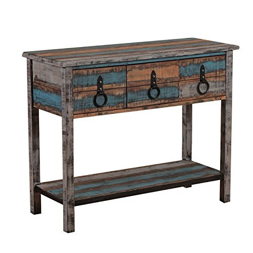 Powell's Furniture Calypso Console Table (Painted Table Console Small)