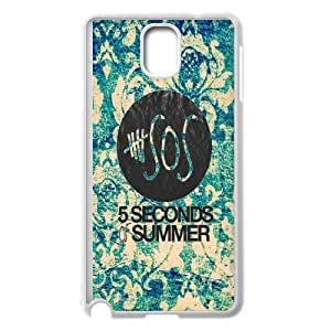 Rock band poster 5SOS Hard Plastic phone Case Cover For Samsung Galaxy NOTE4 Case Cover XFZ404411