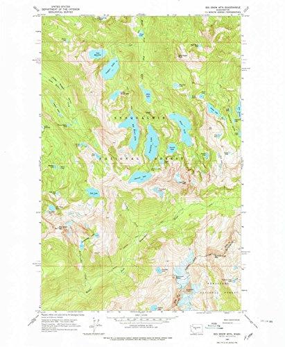 Malachite Eagle - YellowMaps Big Snow Mtn WA topo map, 1:24000 scale, 7.5 X 7.5 Minute, Historical, 1965, updated 1979, 26.9 x 22.1 IN - Paper