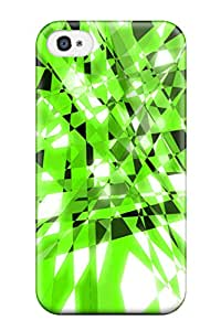 Perfect Fit EmC-224kksQhJgn Shapes Abstract Case For Iphone - 4/4s