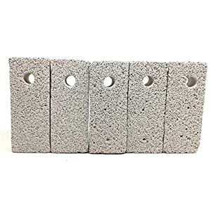 Shelltech Small Animal Lava Bites, Hamster Chew Toys Chew Treats Teeth Grinding Block for Hamster Chinchilla 24