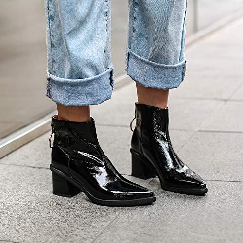 Stivali Stivali Stivali Black Short SA150 Plush Donna wetkiss q5naSt