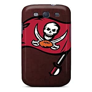 New Snap-on RGwens Skin Case Cover Compatible With Galaxy S3- Tampa Bay Buccaneers