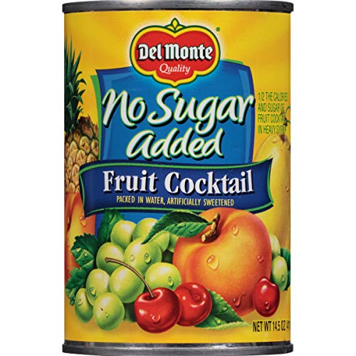 Del Monte Canned Fruit Cocktail, No Sugar Added, 14.5 Ounce ()