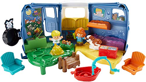 51Tsvh84AwL - Fisher-Price Little People Songs & Sounds Camper