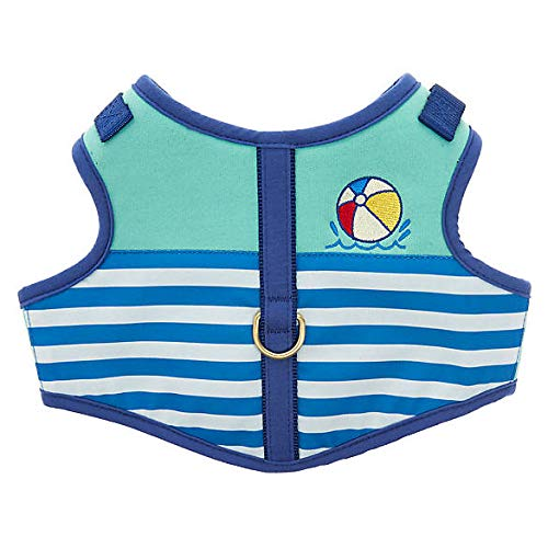 lue Pool Party Vest Dog Harness~Small~ ()