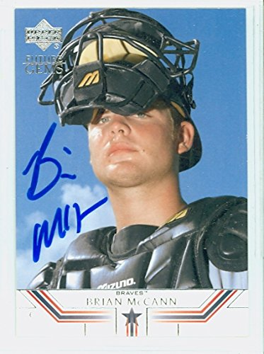 Brian McCann AUTOGRAPH 2002 Upper Deck Future Gems Rookie Card Atlanta Braves ()