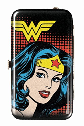 Spoontiques Wallet Case for iPhone 4; iPhone 5; iPhone 5S, iPhone 6; Samsung Galaxy S5 - Wonder Woman Phone Wristlet