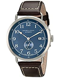 Hamilton Mens Automatic Gold-tone Stainless Steel watch #h78455543