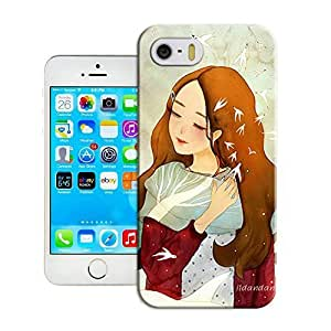 Fashion Case A beautiful gilrs with her long brown hair top quality iPhone6 EqjlwBj997A case cover 4.7 inches protective case cover for sale by LeTian case cover