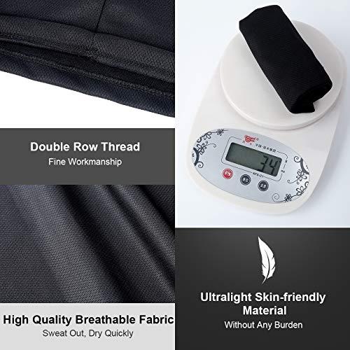 Winter Neck Gaiter Warmer, Fleece Face Covering Scarf, Outdoor adjustable Scarf (A-black+grey with bonus, Large)