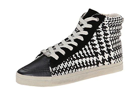 Sneaker Di Moda Scozzese Da Donna Kim & Zozi Nera