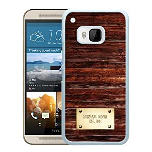 Genuine MK HTC ONE M9 Case,Michael Kors 157 White HTC ONE M9 Screen Phone Case Fashion and Newest Design