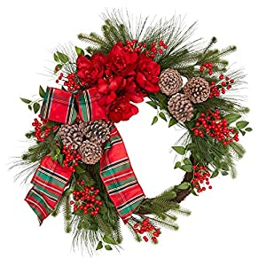 "BrylaneHome 33"" Bellmead Wreath 3"