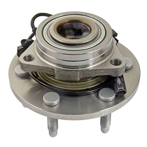 Delco Bearings - ACDelco 515096 Advantage Wheel Hub and Bearing Assembly with Wheel Speed Sensor and Wheel Studs