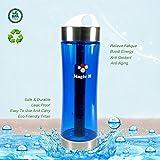 Portable Healthy Water Bottle Mineral Filter Water Bottle Purifier Provide Hydrogen Alkaline Water Anti Aging, Leak Proof, BPA Free, Eco-Friendly Tritan Plastic ,No Electricity