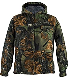 Toddlers Camo Sherpa lined Zip Up Jacket W/ Magnet, 4T, Camo