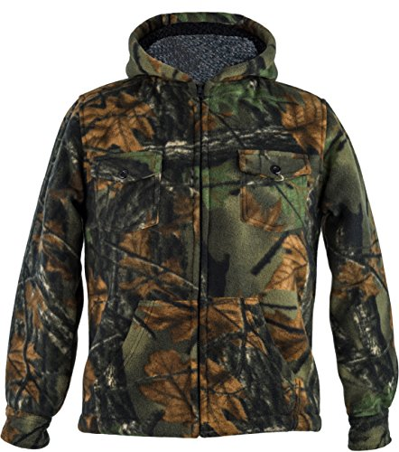 Lined Camo Hunting Jacket - 6