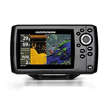 Humminbird 410220-1NAV Heli x 5 Chirp DI GPS G2 NAV Bundle