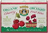 Annie`s Homegrown Organic Cherry Fruit Bites, 3.15-ounce Boxes (Pack of 12)