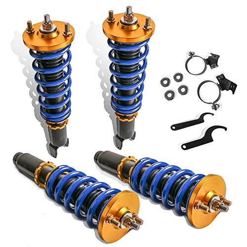 MOSTPLUS Adjustable Height Coilovers Struts for 1993-2001 Acura Integra /1994-2000 Honda Civic (Set of 4)