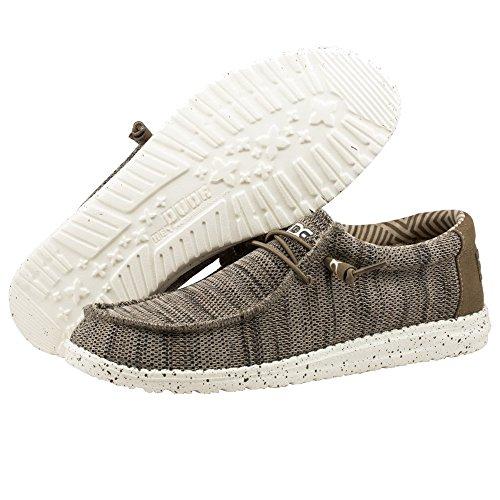 Wally Shoes Casual SOX Dude Hey Mens Brown 4qwAP5gW