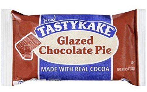 - Tastykake Glazed Cherry Pie (Pack of 9) (Chocolate)