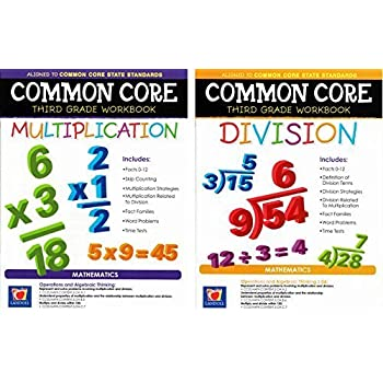 Amazon.com: Common Core Multiplication & Division Third Grade ...
