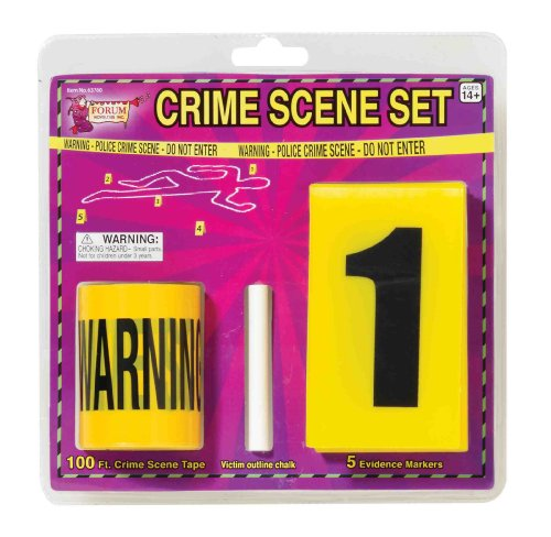 Crime Scene Kit - Props Costume Accessory - CSI