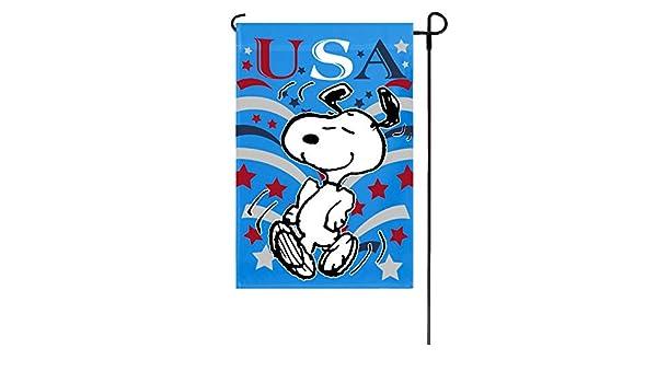 Cacahuetes patriótico EE. UU. Bandera de Jardín 12