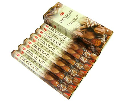 Hem Chocolate Incense Sticks(9.3 cm X 6.0 cm X 25.5cm, Black )