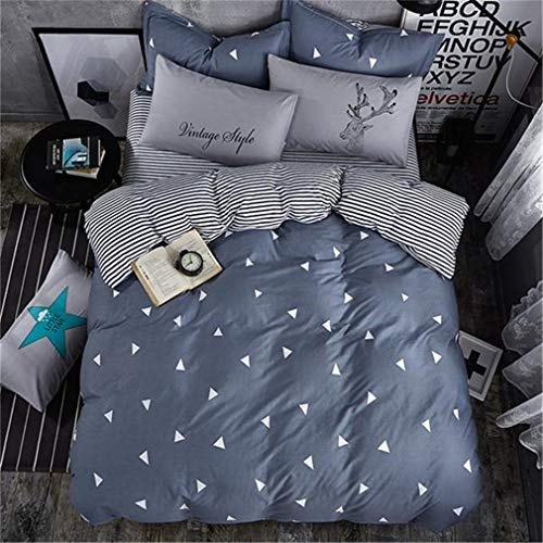 Mandarin Duck Comforter Set Jacquard and Stripe Style of King Queen Size Bed Sheet Pillowcases Bedclothes as picture26 Twin ()