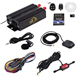 GBSELL Vehicle Car GPS SMS GPRS Tracker Real Time Tracking Device Syatem Remote TK103B