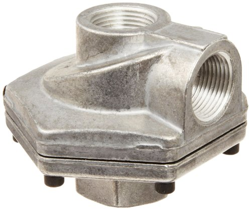 Parker 0R50B Die Cast Aluminum Quick Exhaust Valve with Nitrile Static Seal, 1/2
