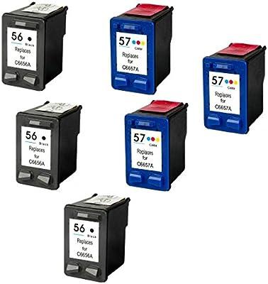 Prestige Cartridge 6 Cartuchos de Tinta para HP Deskjet 450 450CBi ...