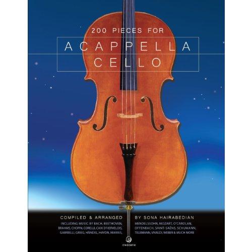 200 Pieces for Acappella Cello