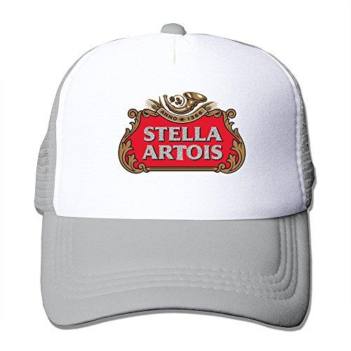 Cool Stella Artois Trucker Mesh Baseball Cap Hat One Size (Superhero Graduation Cap)