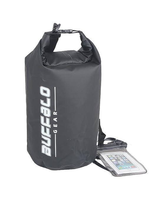 Amazon.com   Buffalo Gear Waterproof Duffel Bag Large Dry Bag Backpack for  Travel ef4e9f07f5204