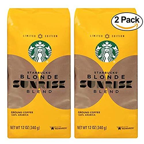 Starbucks Sunrise Blonde Light Roast Ground Coffee - 12oz - Pack of 2