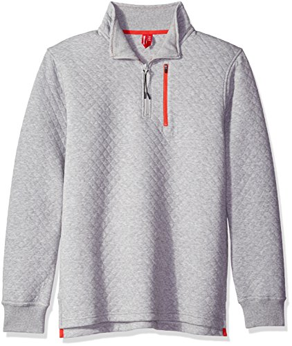 Quarter Zip Mens Sweatshirt - 8